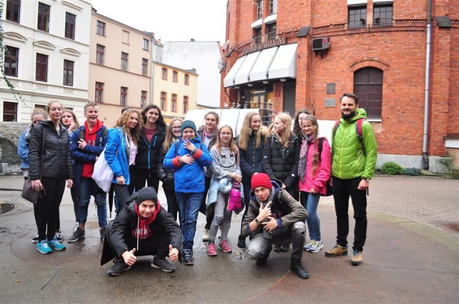Wycieczka do planetarium w Toruniu