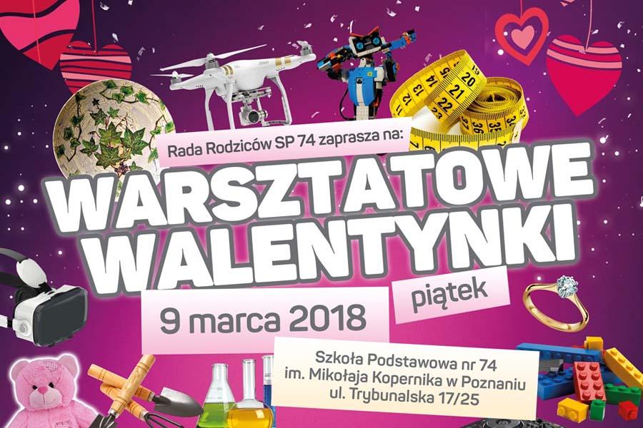 Warsztatowe Walentynki w SP 74