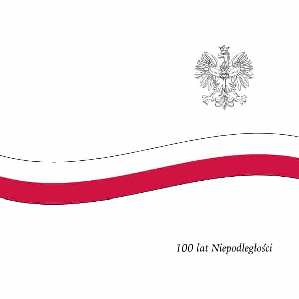 100. rocznica odzyskania przez Polskę niepodległości.