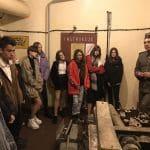 Nietypowa lekcja historii – klasa 8c z wizytą w schronie przy ul. Babimojskiej