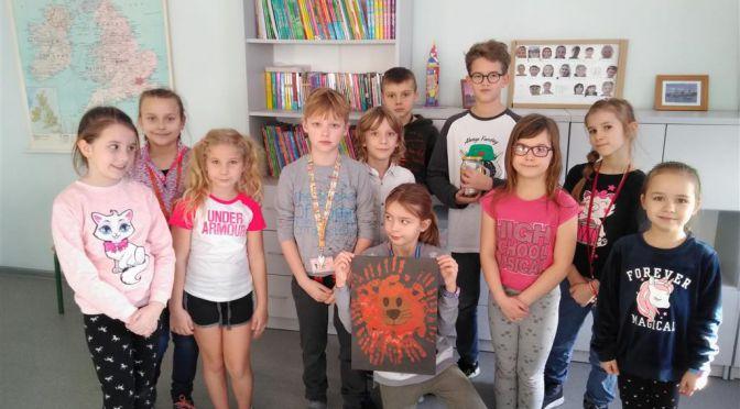 Spotkanie Samorządu Uczniowskiego klas I-III