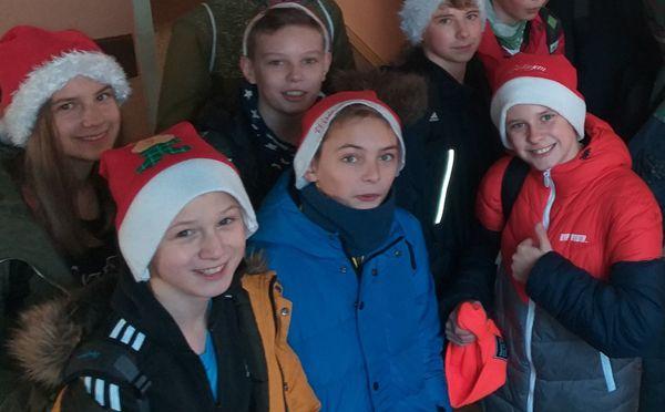 Spotkanie Mikołajkowe 6a w przedszkolu Bajka