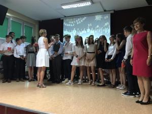 2019-06-19 Uroczyste zakończenie roku szkolnego klas 8 11